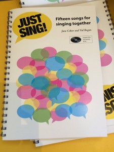 Just Sing by Jane Coker and Val Regan
